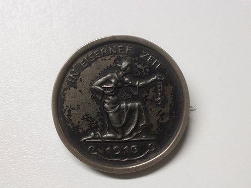 Deutsches Reich Medaille- In eiserner Zeit 1916- WWI