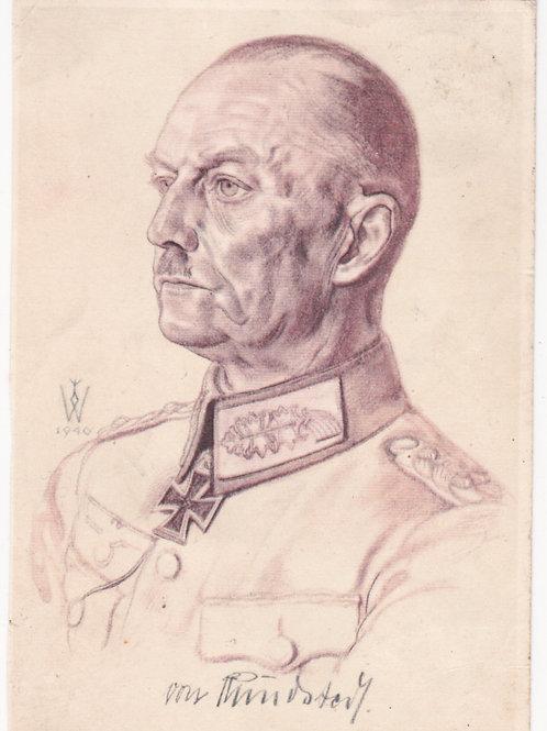 Postcard VDA : Generaloberst von Rundstedt