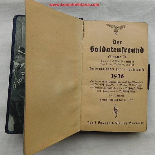 Der Soldatenfreund Ausgabe C Taschenkalender Luftwaffe 1938