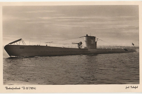 Postcard/Postkarte Unterseeboot U25