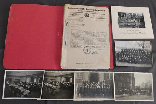 Hitlerjugend Bann Rochlitz/HJ Gebiet Sachen 16- Kinderlandverschickung Mittweida