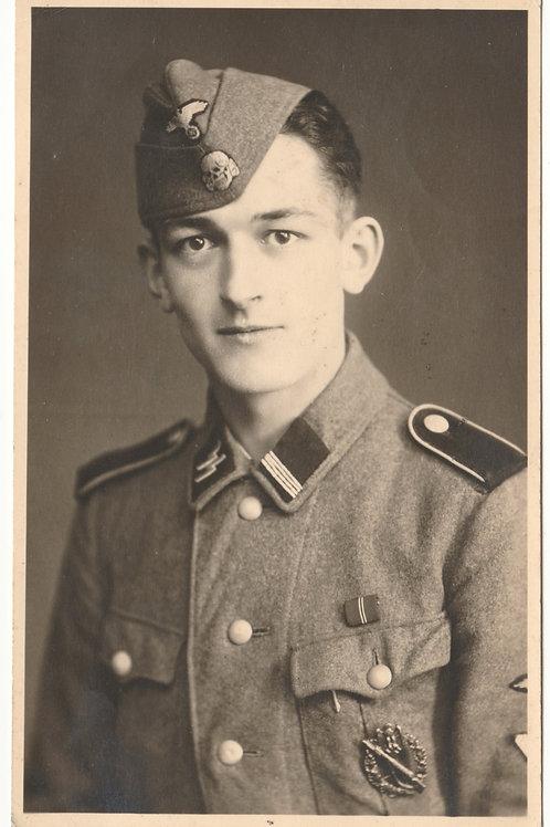 SS Portrait Rottenführer with Infantry Assault Badge