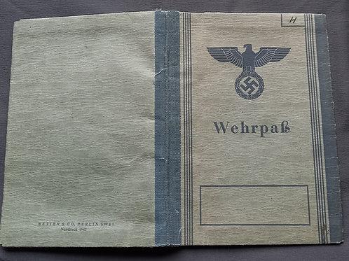 Wehrpass Freiwilliger Gelsenkirchen Jahrgang 1929