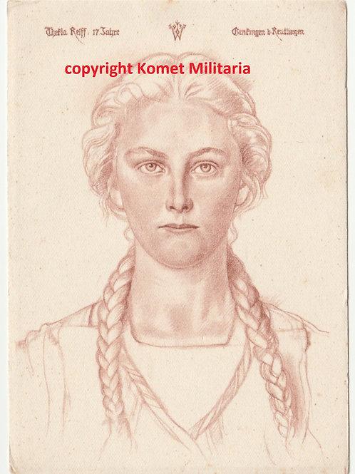 Postcard/Postkarte Deutscher Blutadel in aller Welt