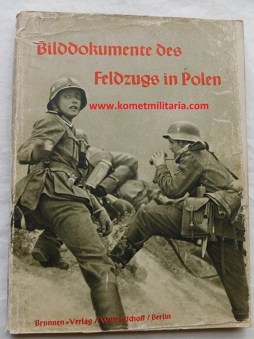 Buch Bilddokumente des Feldzugs in Polen