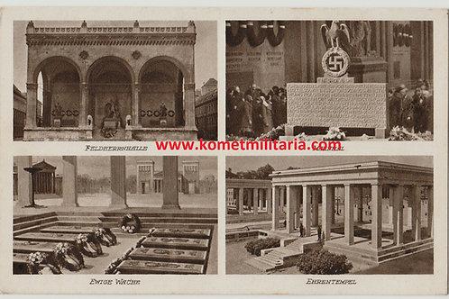 Postkarte-Postcard Feldherrnhalle München