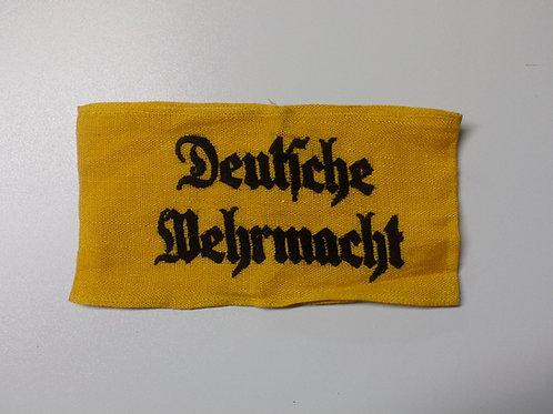"""""""Deutsche Wehrmacht""""Armband"""