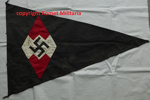 Hitlerjugend double sided Pennant