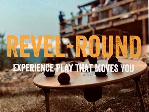 Revel Round Set - Cornhole w/ A Kick!
