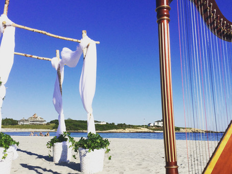 Beach Weddings and the Harp