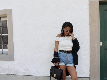 SUMMER OUTFIT WITH BOOTS