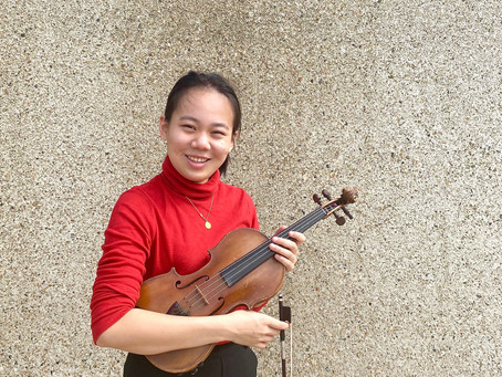 Profile: Next Gen Artist Helena Wang, violin