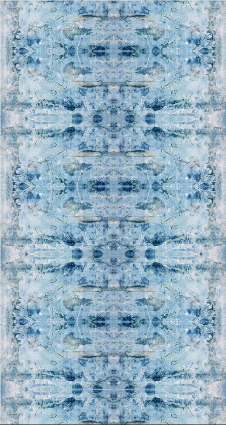 Blue Leaf Chinoiserie