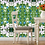 "Thumbnail: ""Hans' Garden"" Botanical Print Wallpaper"