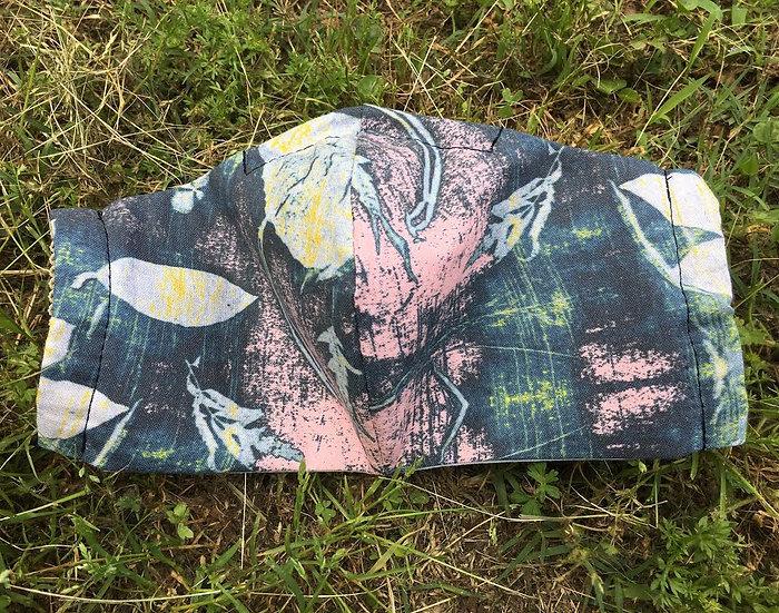 Fleur Botanical Custom Print Mask