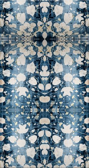 """""""The Dancing Vine"""" Botanical Print Wallpaper"""