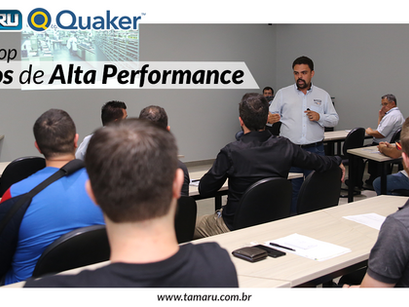 Workshop - Fluidos Quaker de Alta Performance