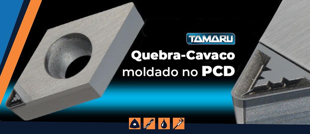 Quebra-Cavaco moldado Inserto Pastilha PCD Usinagem