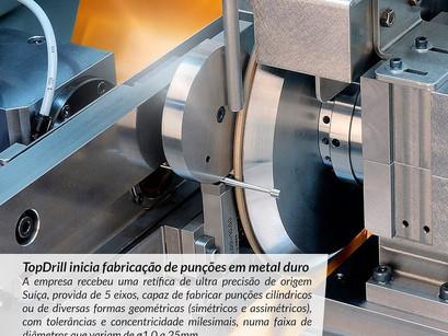 TopDrill inicia fabricação de punções em metal duro