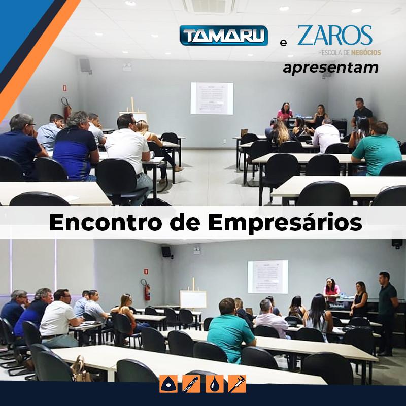 Tamaru e Zaros Escola de Negócios organizam encontro de empresários na Tamaru Ferramentas para Usinagem
