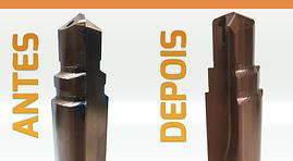 Reafiação de Ferramentas de Usinagem Metal Duro Afiação
