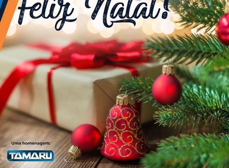 A Tamaru te deseja um Feliz Natal!
