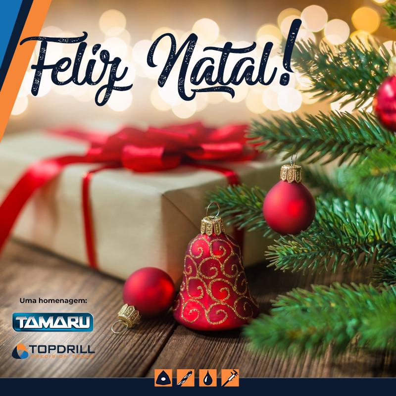 Feliz Natal, de Tamaru Fluidos e Ferramentas para Usinagem Metrologia Fresas