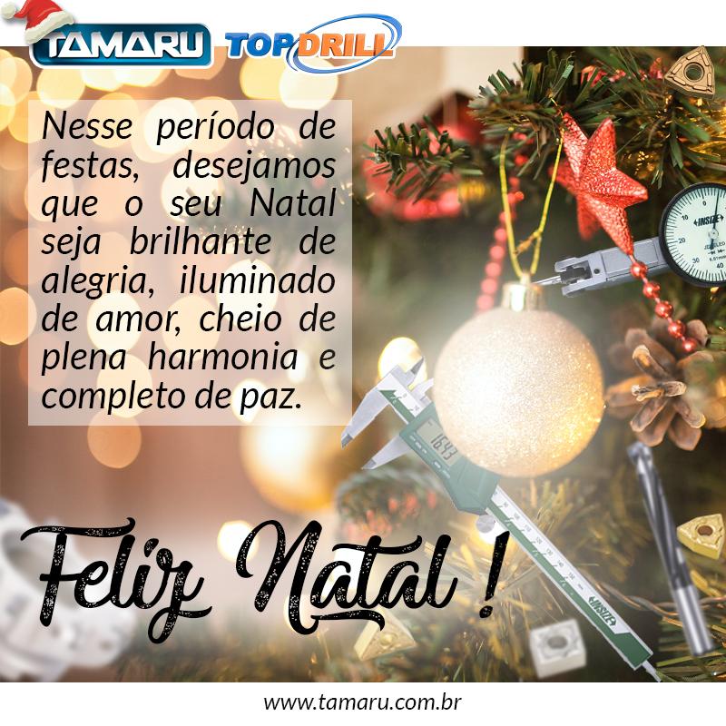 Um Natal iluminado, cheio de amor e carinho a todos!