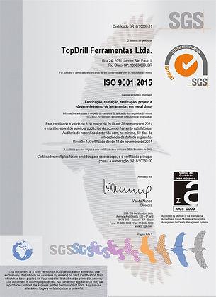 Certificado ISO 9001 TOPDRILL.jpg
