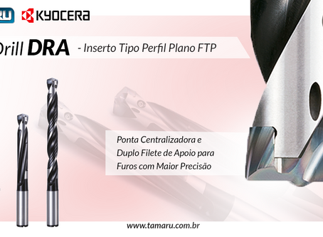 Broca Modular Kyocera - MagicDrill DRA (FTP)