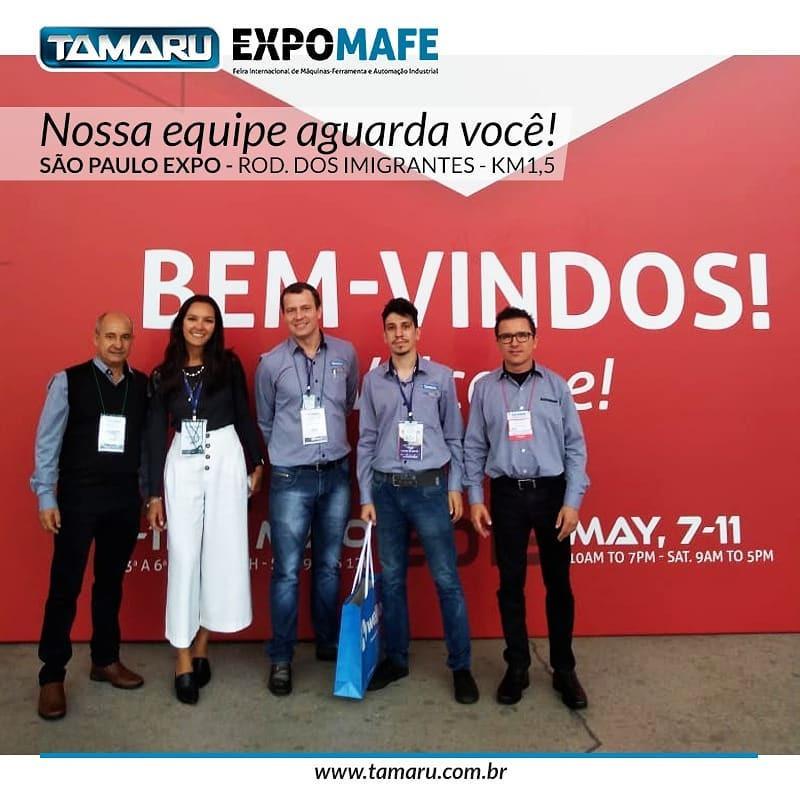 Tamaru Fluidos e Ferramentas para Usinagem Metrologia Fresas Expomafe