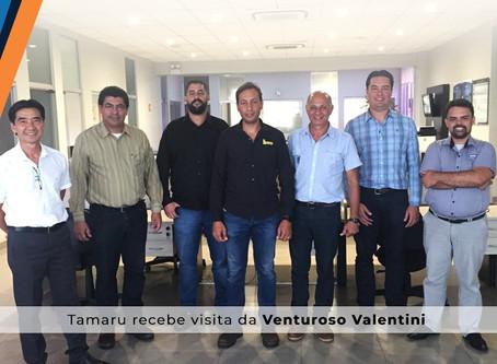 Tamaru Ferramentas recebe visita da empresa Venturoso Valentini, de São Joaquim da Barra - SP