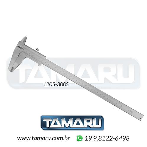 Paquímetro Analógico 1205-300S 300mm - Leit. 0,01mm - Insize