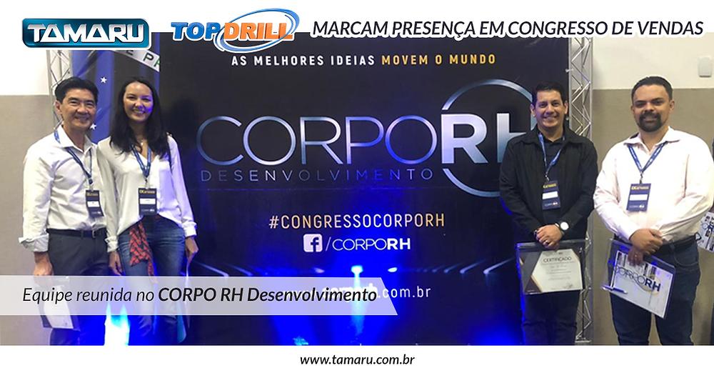 Congresso Corpo RH Desenvolvimento, em Campinas - SP