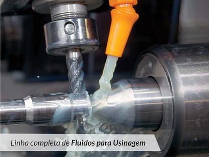 Linha completa de fluidos para usinagem