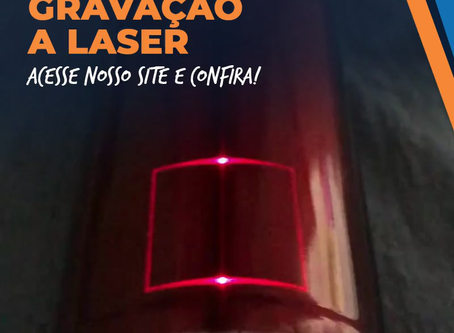Gravação a Laser é na Topdrill!