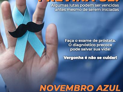 Novembro Azul: Homem também tem que se prevenir!