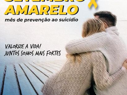 Setembro Amarelo - Um mês de conscientização sobre o suicídio