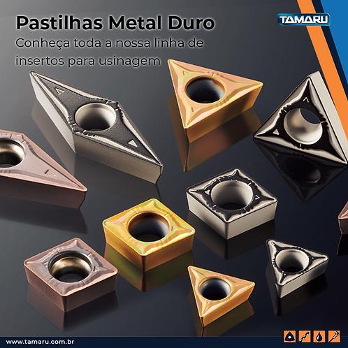 Insertos Intercambiáveis de Metal Duro