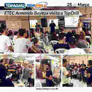Palestra workshop treinamento usinagem brasil fresas brocas insertos pastilhas senai etec