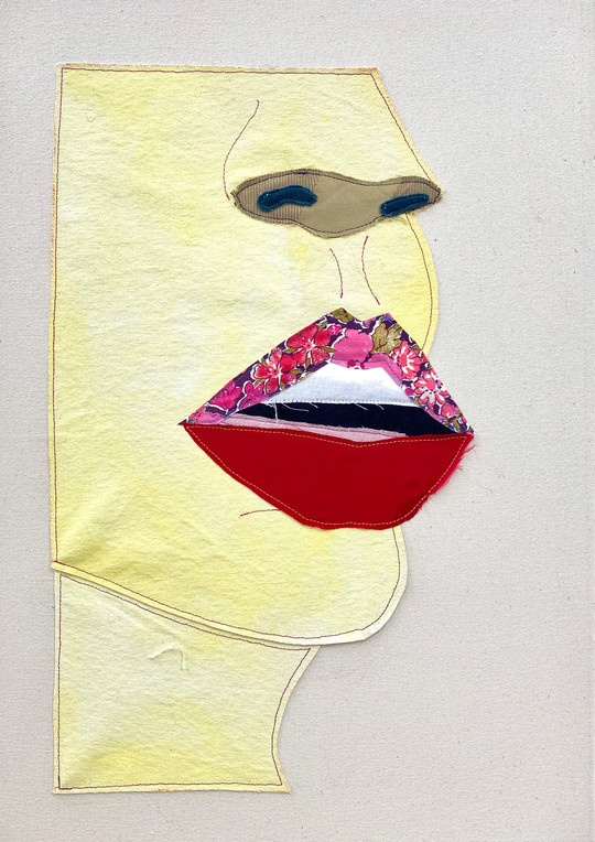 (yellow) lips