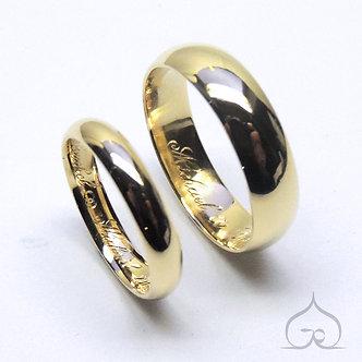 bagues de mariage en or 18ct