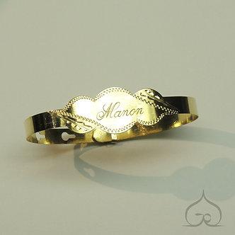 gravure bracelet naissance