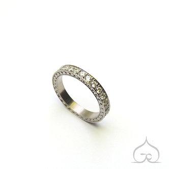 trouwring met diamant