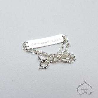 gravure bracelet baby