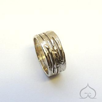 ring wit goud