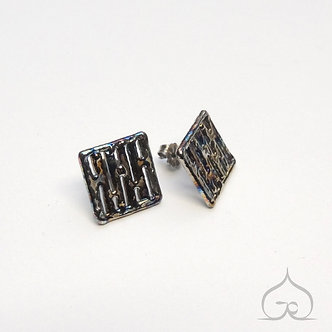 titanium oorbellen