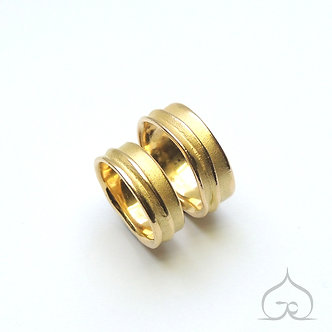 bagues de mariage en or