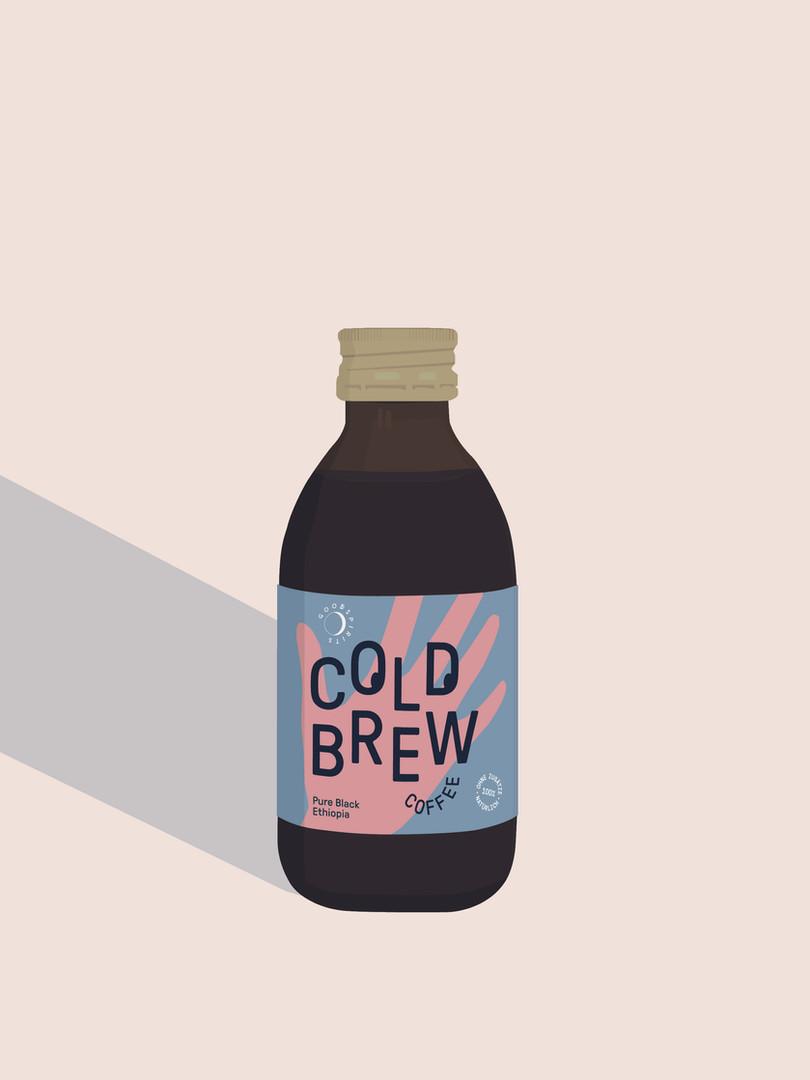 Good Spirits Cold Brew Ethiopia Flasche
