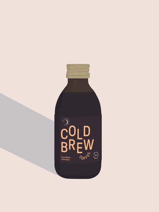 Good Spirits Cold Brew Colombia Flasche